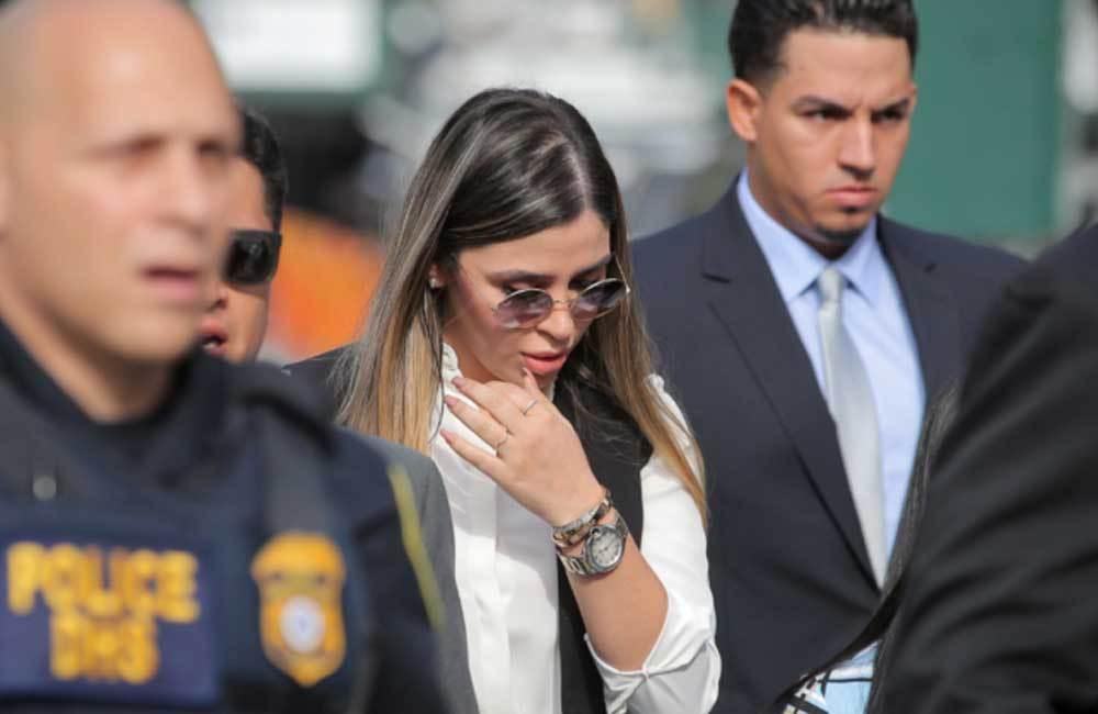 """Detienen a Emma Coronel, esposa del """"Chapo"""" Guzmán, por narcotráfico"""