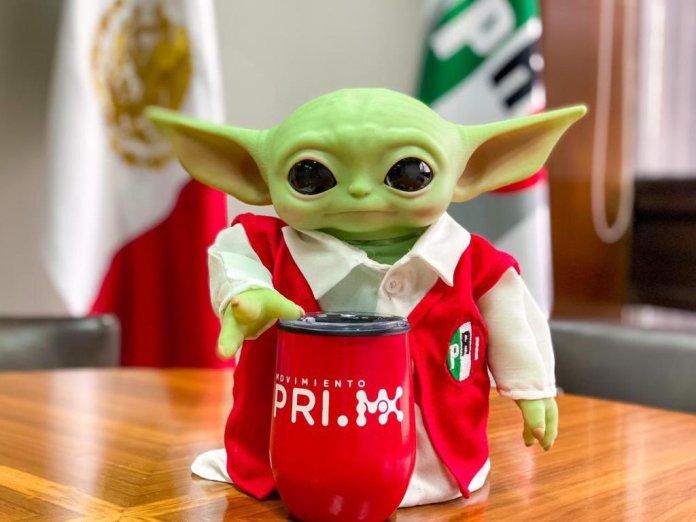 Baby Yoda, el nuevo recluta del PRI