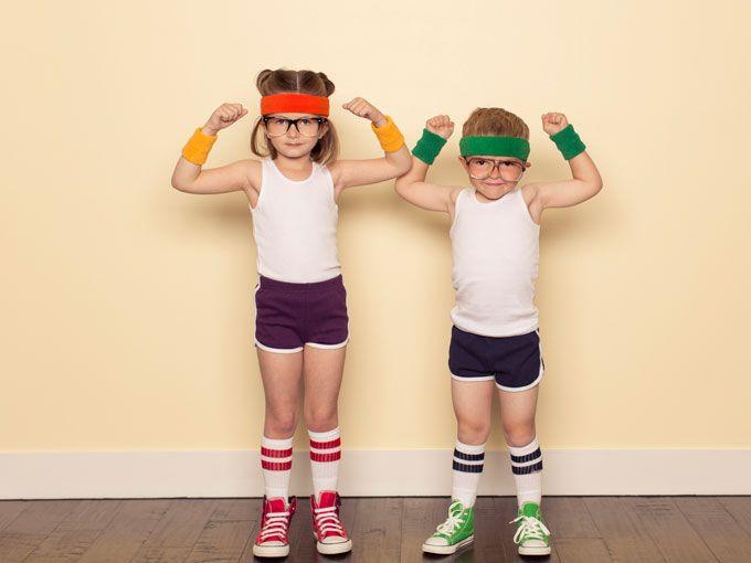Motiva a tus hijos a mantenerse físicamente activos