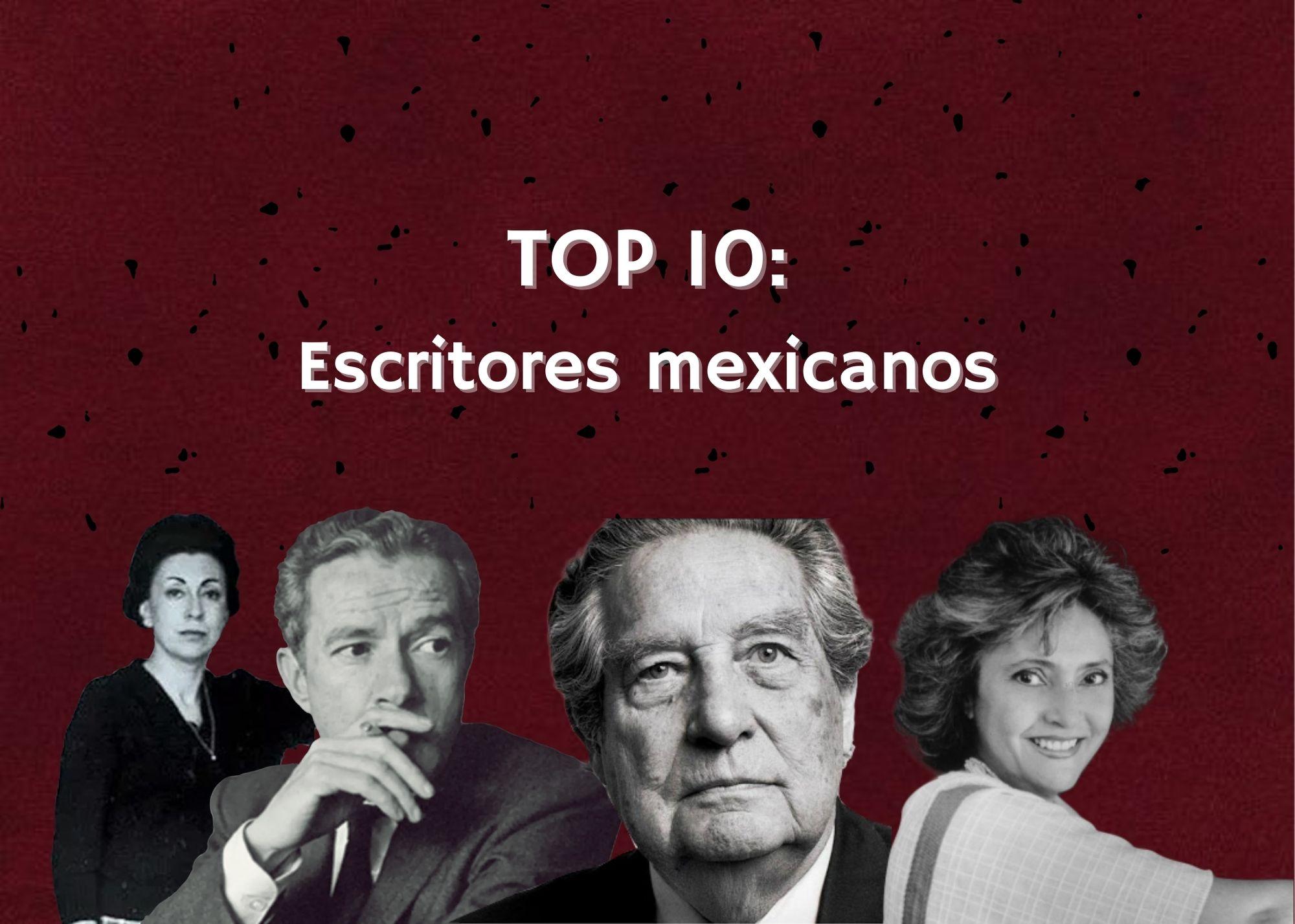 Los mejores escritores mexicanos de todos los tiempos
