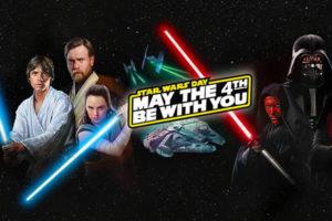 Que la fuerza te acompañe: Día de Star Wars