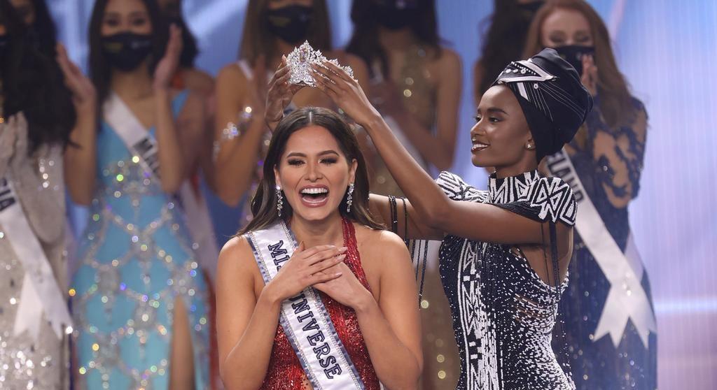 ¡México tiene corona! Andrea Meza es la nueva Miss Universo