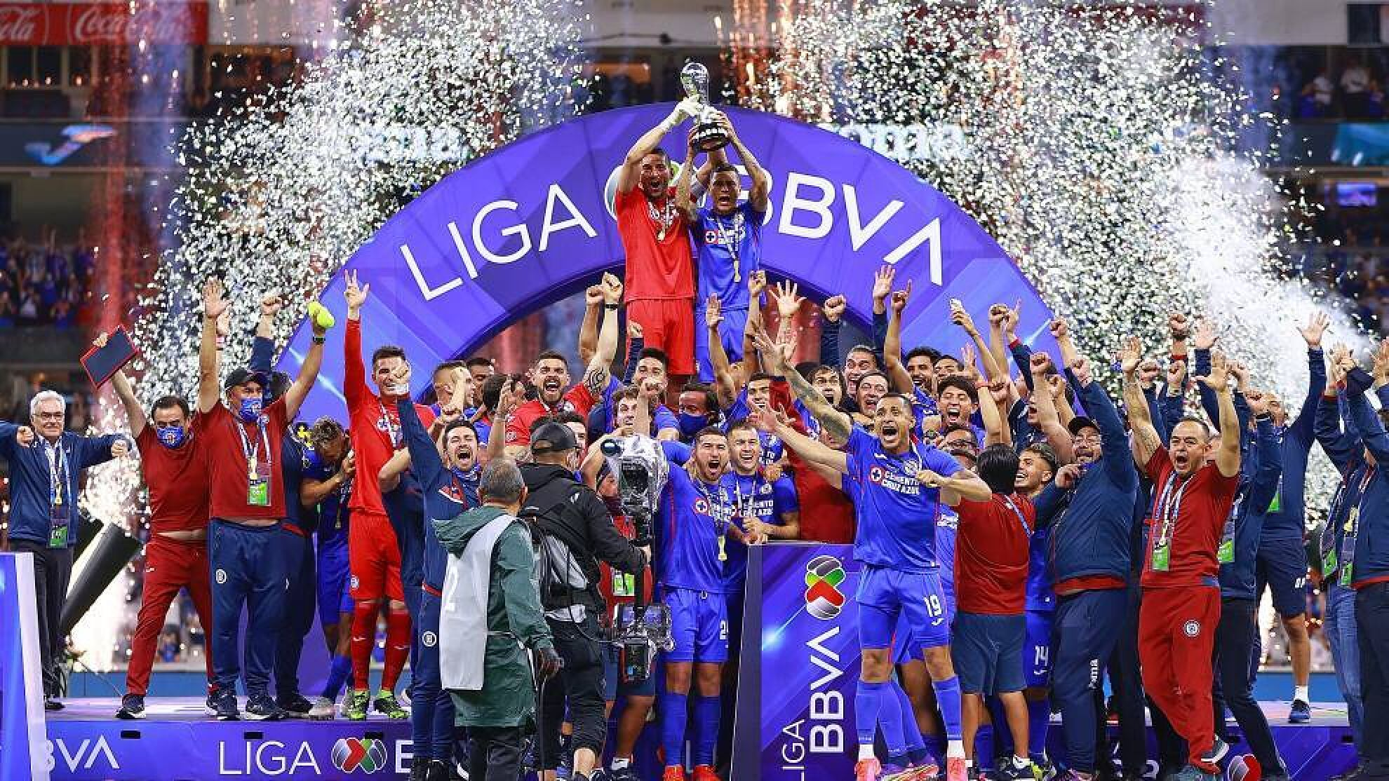 Cruz Azul se convierte en campeón de la liga MX