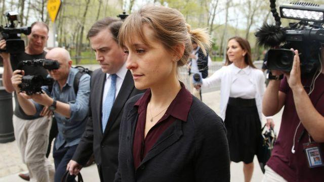 Allison Mack es condenada a prisión por su implicación en caso NXIVM