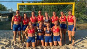 Sancionan a atletas noruegas por usar pantalones cortos en lugar de bikini