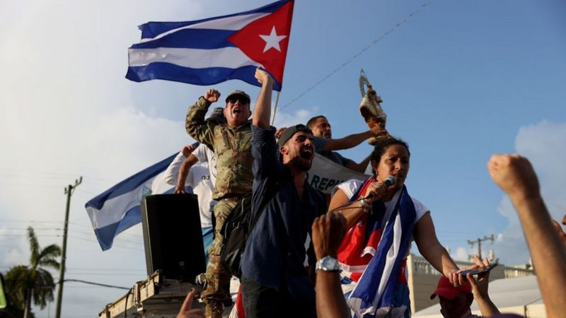 Protestas contra el castrismo, esto está pasando en Cuba