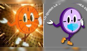 ISSSTE utiliza la imagen de Miss Minutes para promover el uso del cubrebocas
