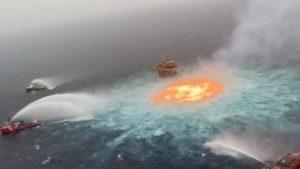"""""""Fue un accidente"""" Asegura AMLO sobre el incendio del ducto de Pemex"""