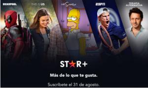 Star+ llega a México, esto debes de saber sobre el nuevo servicio de streaming