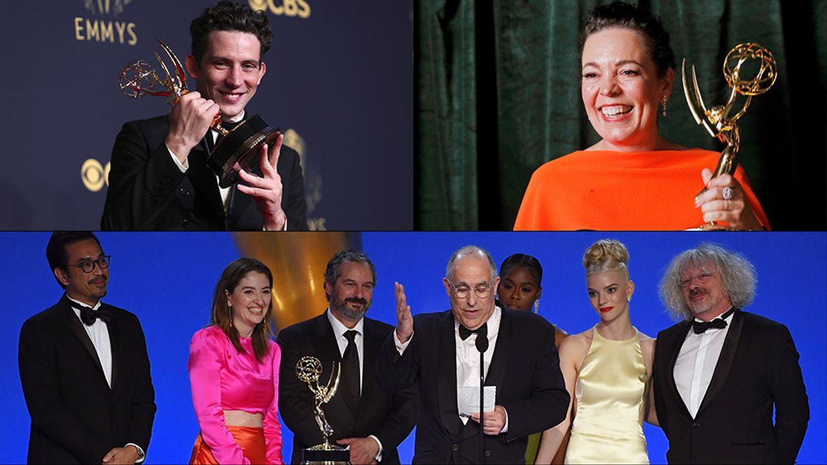 Emmy 2021: Mejores momentos y memes que nos dejó la entrega de premios