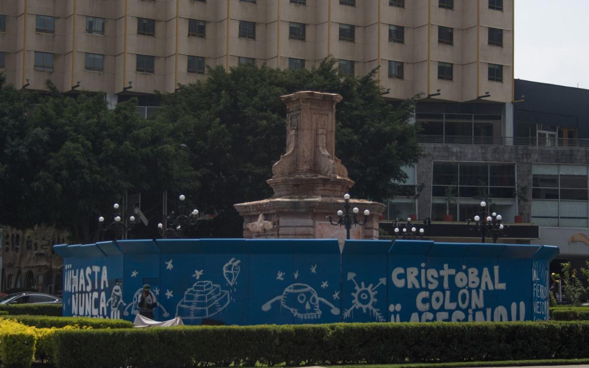 Monumento de Cristóbal Colón será reemplazado por una estatua dedicada a la mujer indígena